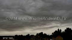 Angry Sky Upslope winds along the Colorado Front Range produce menacing, lowering clouds. with undulations due to waves on an elevated inversion layer.