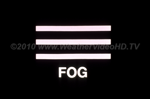 Weather Symbol   Fog   Royalty Free Stock Weather videos and photos